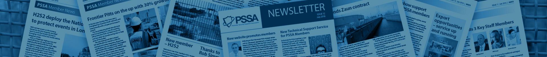 PSSA Newsletter Header Image