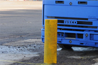 Gunwharf 219 Performa-Cast Polymer PAS 68 Bollard (VED/0003 and VED/0010)