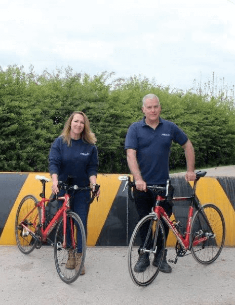 Directors of Security Company Complete 237-mile Bike Ride for Charity
