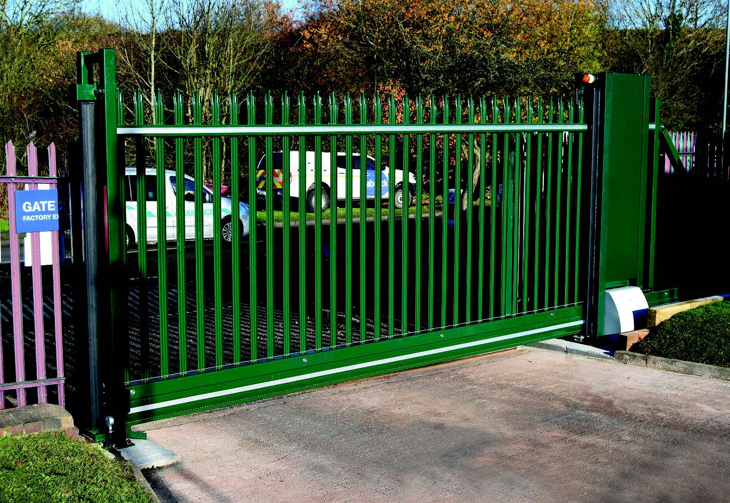 Heras Launches New Sliding Gate – Safeglide 2