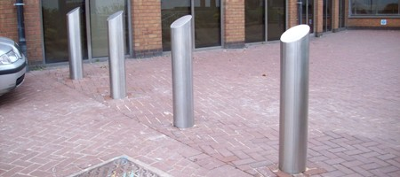 SP400 Shallow Mount Static Bollard