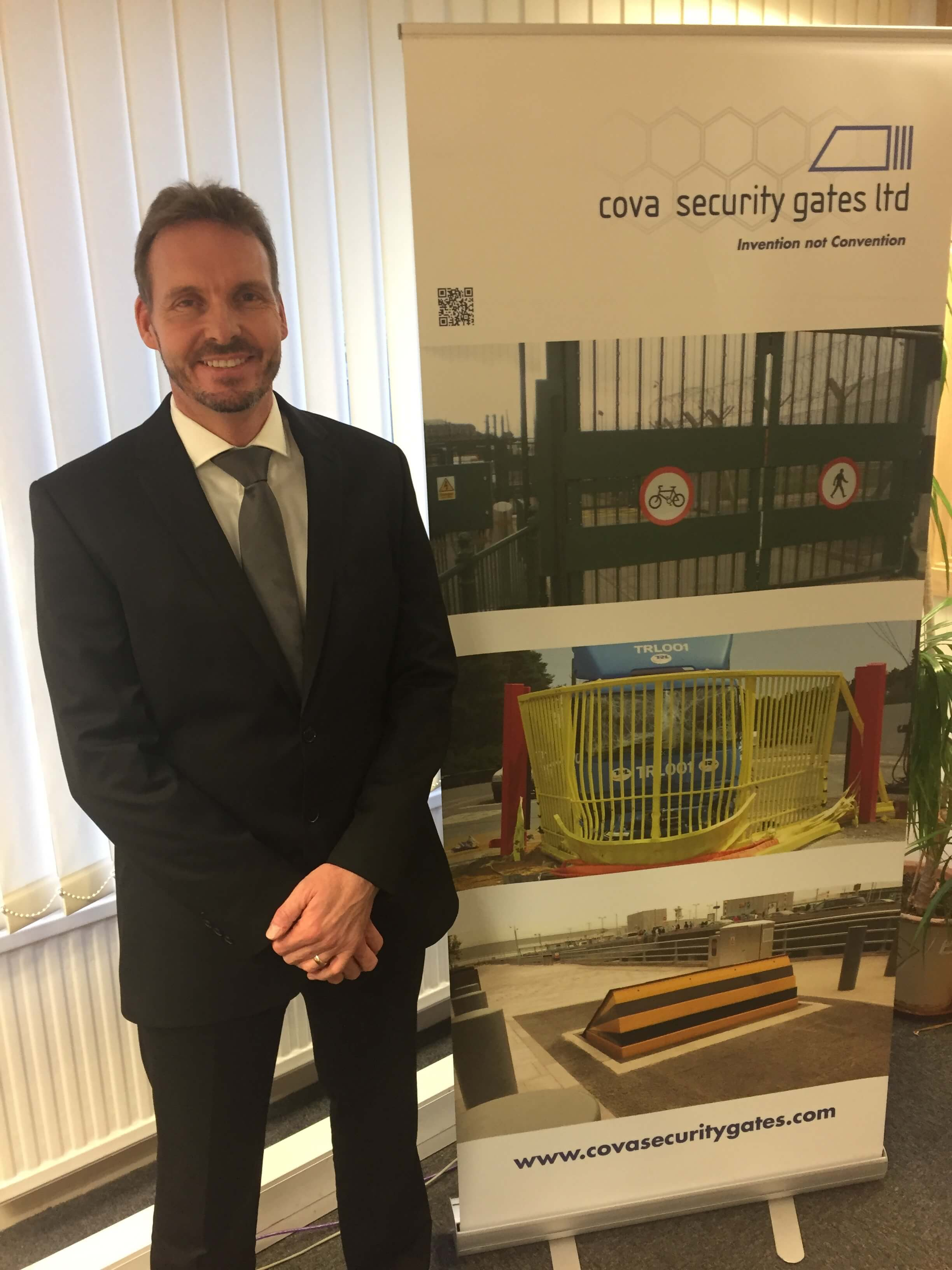 Adrian Lewis New Director at Cova Security