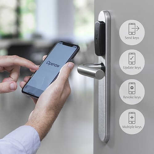 With Openow™ from SMARTair® your mobile phone becomes a secure virtual key