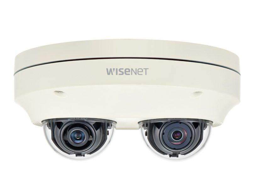 Hanwha Techwin launches dual-channelmulti-directional Wisenet P camera