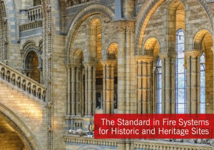 Advanced publishes fire protection brochure aimed at historic or heritage sites