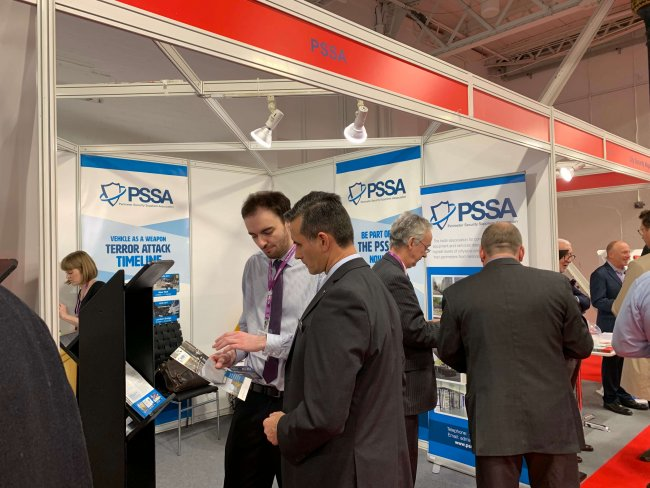 PSSA is exhibiting at the International Security Expo at Olympia, London