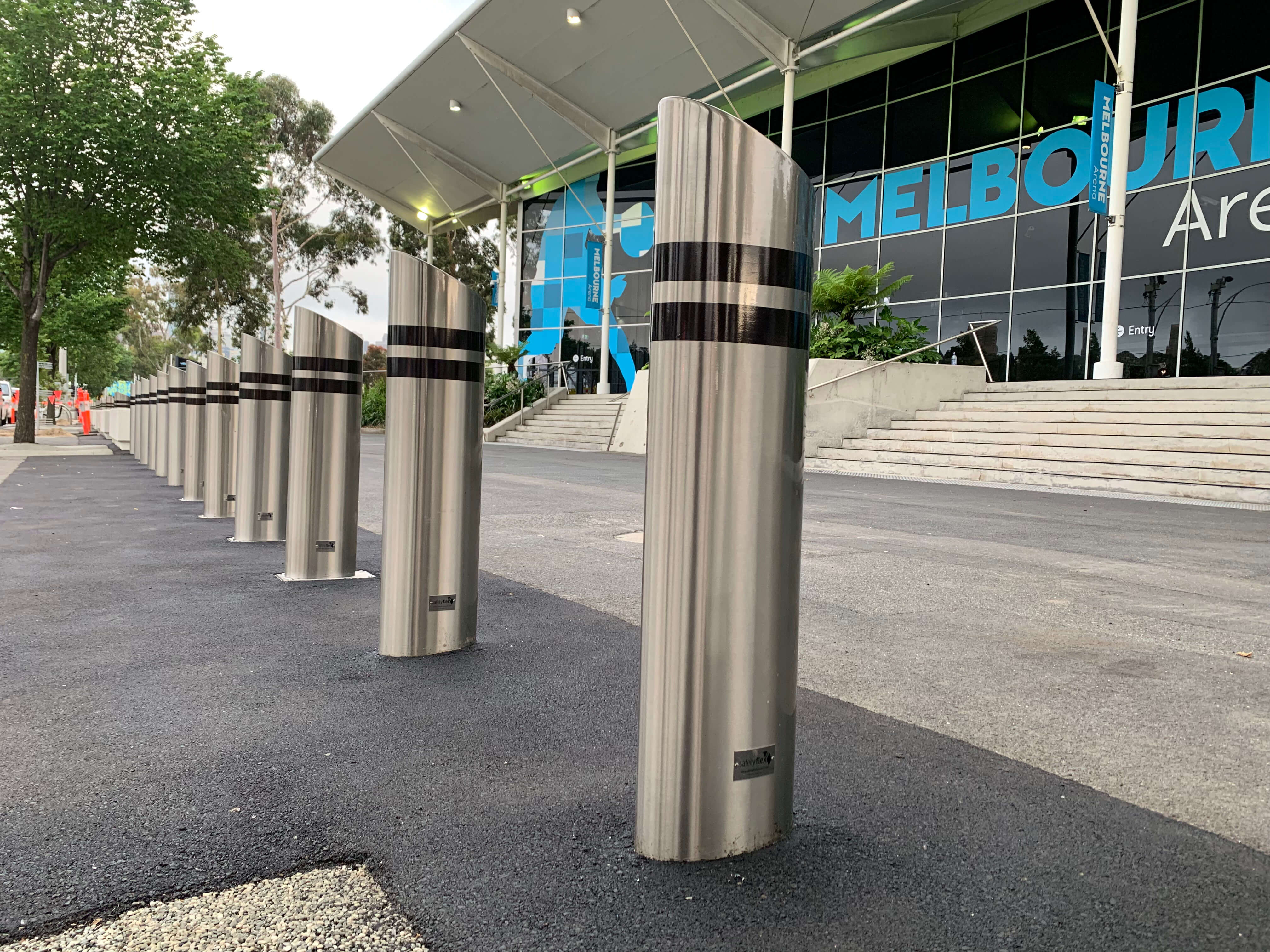 Grand Slam for Safetyflex Barriers at the Australian Open