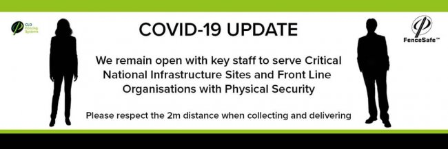 CLD Fencing Systems launches the COVID-19 Rapid Response Physical Security Team