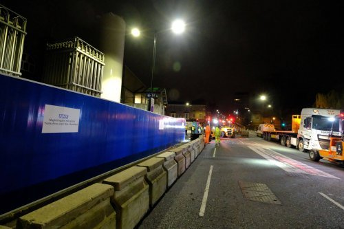 Hardstaff Barriers support Coronavirus Hospital with HVM protection
