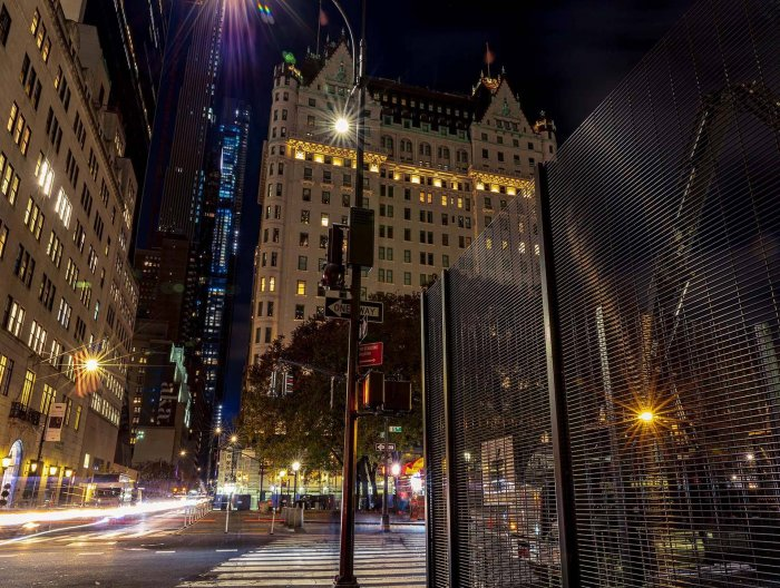 CLD Fencing Systems USA sister company, JGW Group, makes 5th Avenue debut