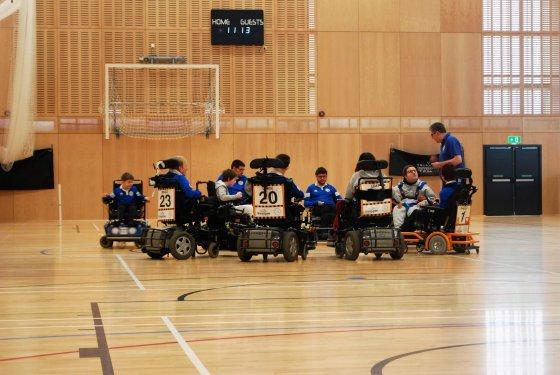 Heald announces partnership with Powerchair Football Club